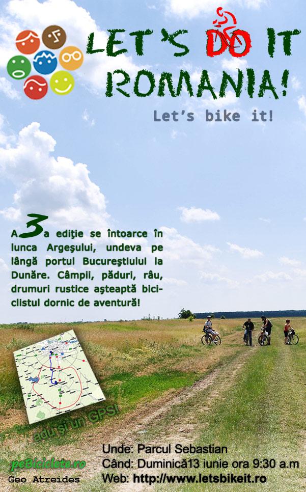 Se strigă din nou Let's bike it!