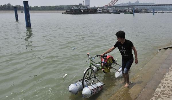 FOTO: Bicicletele inundate