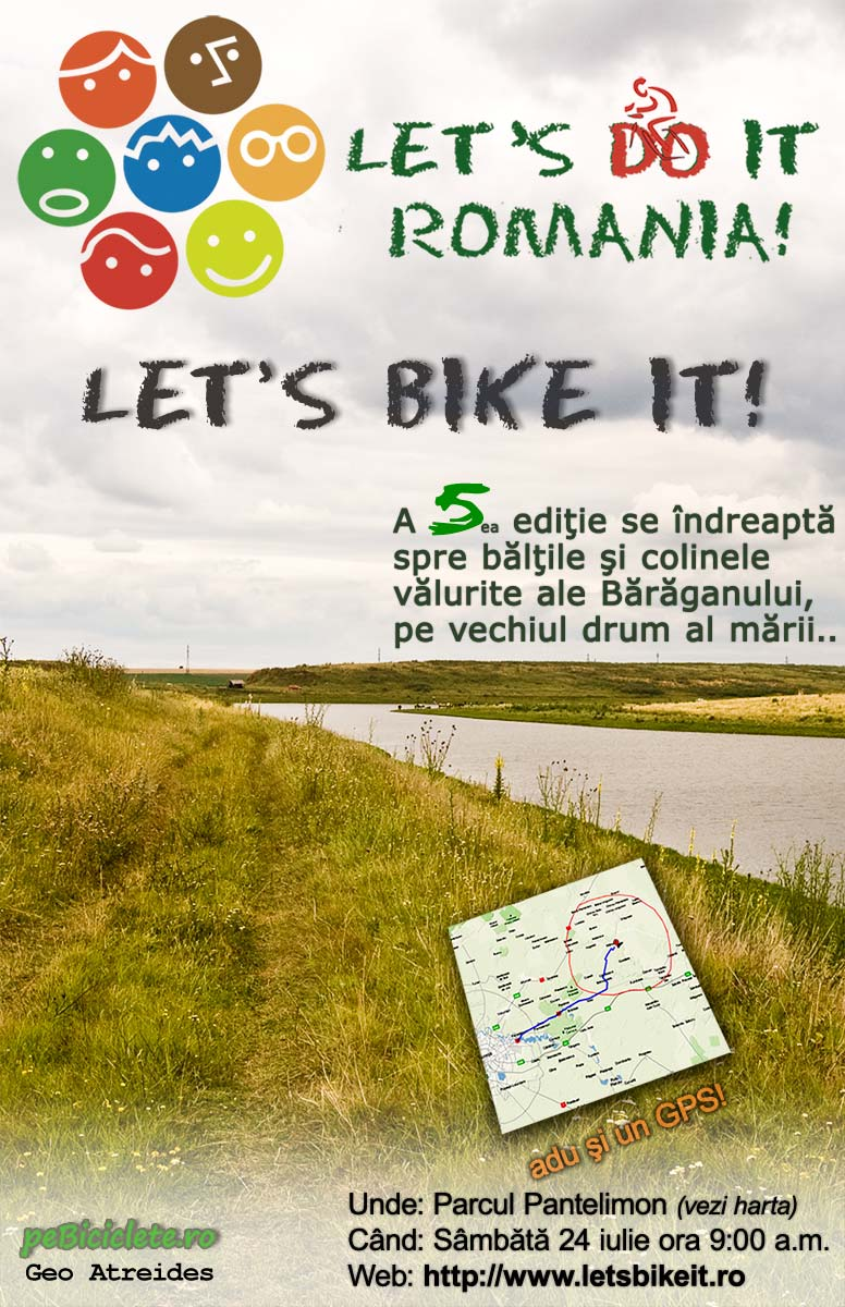 Let's bike it 5! - Peste coline