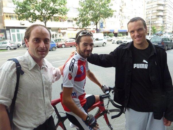 Frédéric Péron, un francez care pedalează româneşte