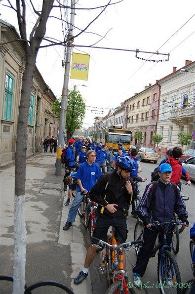 Clujenii încep anul mişcării cu bicicleta