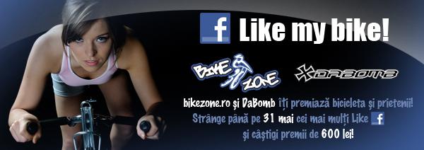 CONCURS Bikezone îţi oferă produse contra Like-uri