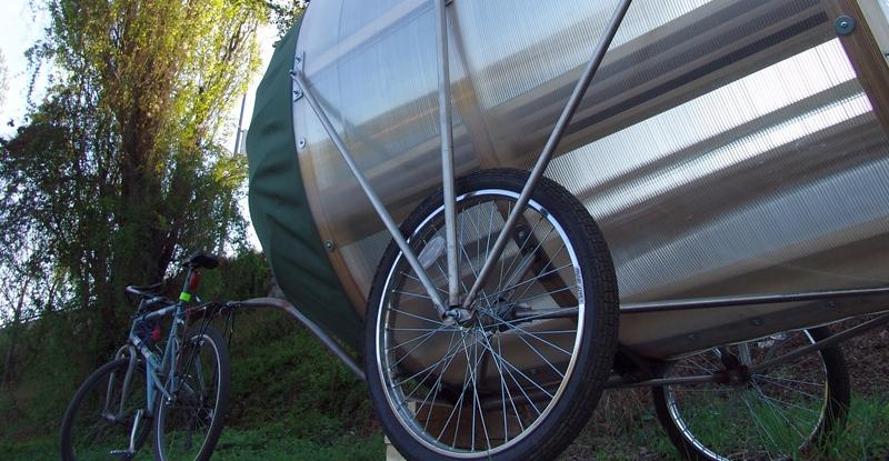 Bicicleta cu saună