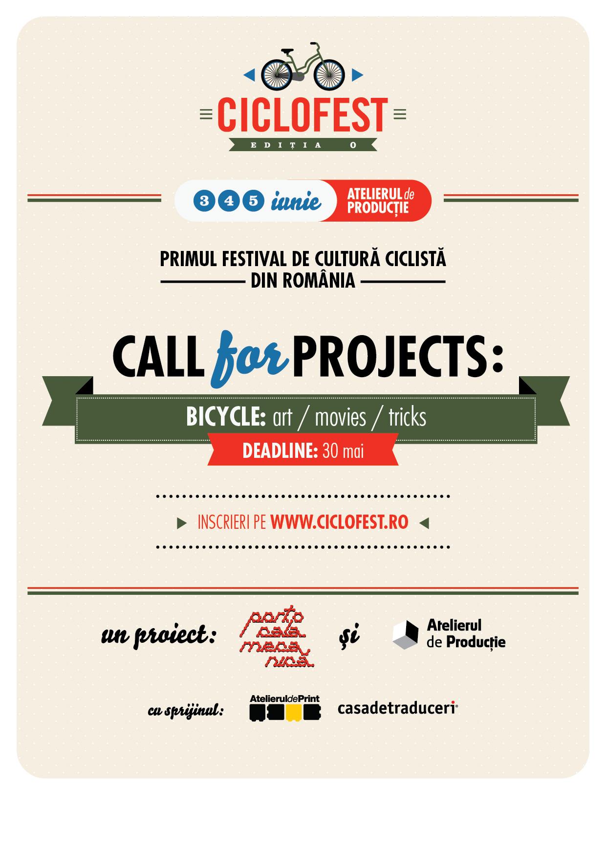 Ciclofest, primul festival dedicat bicicletei