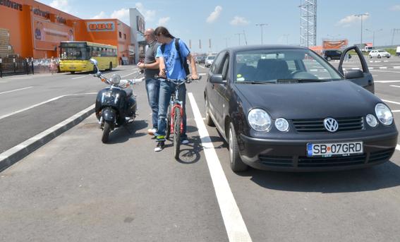 În Sibiu, cel mai bine se circulă cu maşina