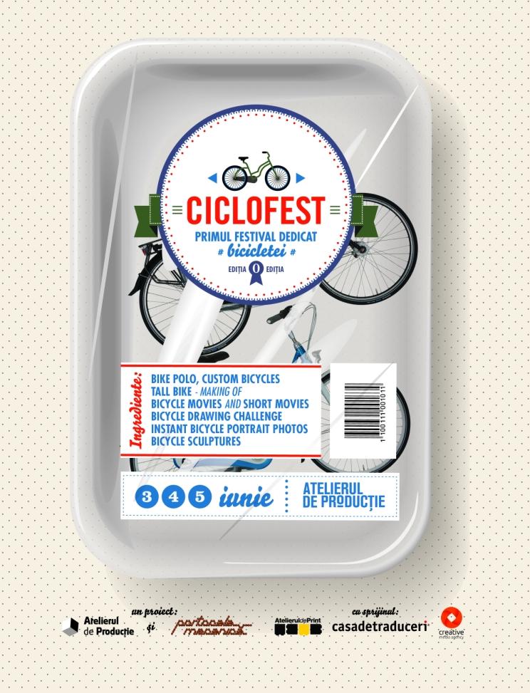 Este momentul pentru Ciclofest, primul festival dedicat bicicletei
