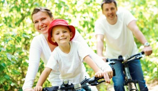 Lasă-ţi copilul cu bicicleta la şcoală