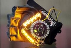 Prototip: semnalizare luminoasă de mînă