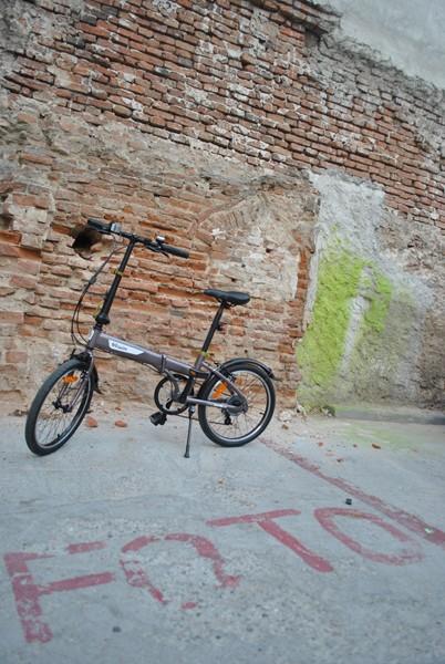 RECENZIE Bicicleta pliabilă B'Twin Hoptown 5 de la Decathlon