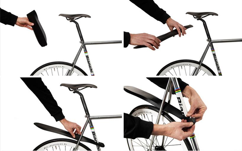 Aripa pliabilă pentru bicicletă