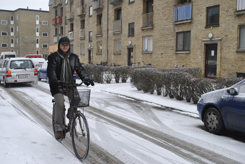 VIDEO Cu bicicleta prin Copenhaga