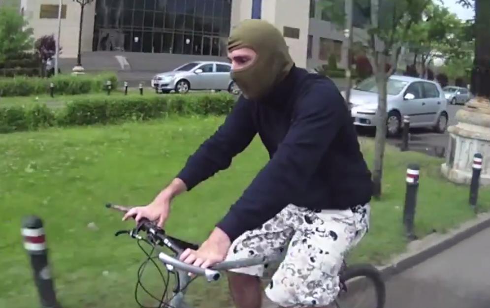 VIDEO Liniște pentru bicicliștii care nu mai sunt