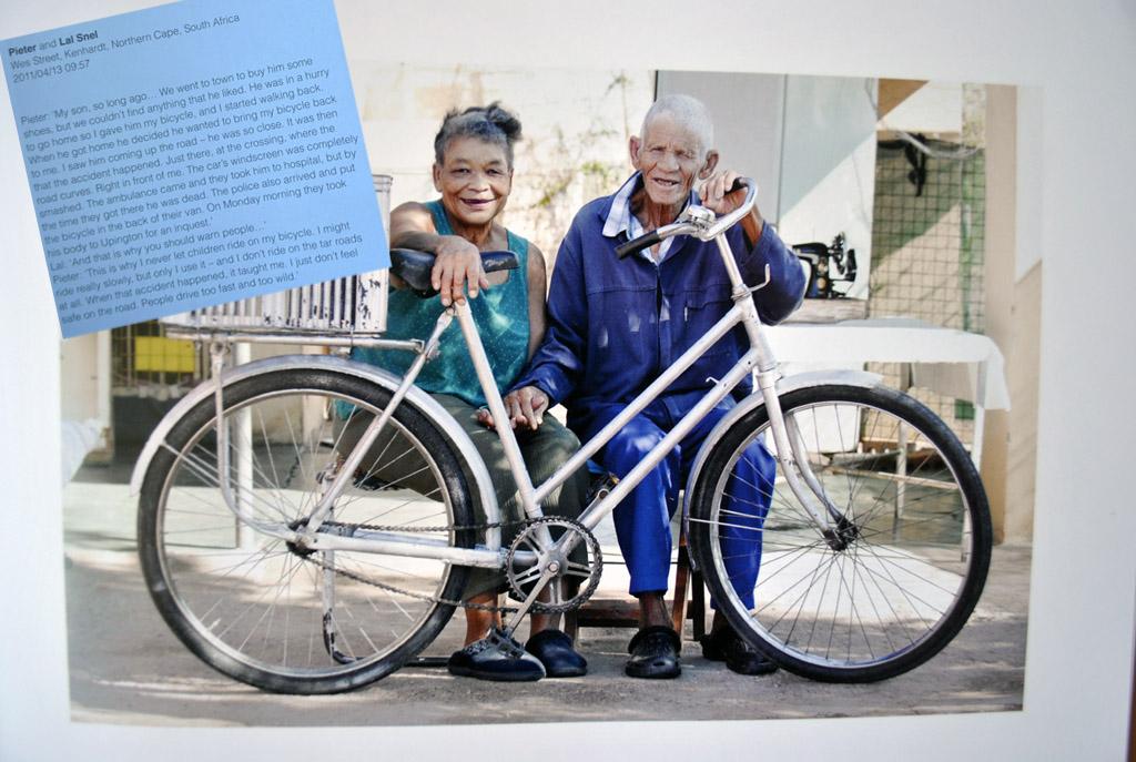 Bicycle Portraits, trei volume de colecție