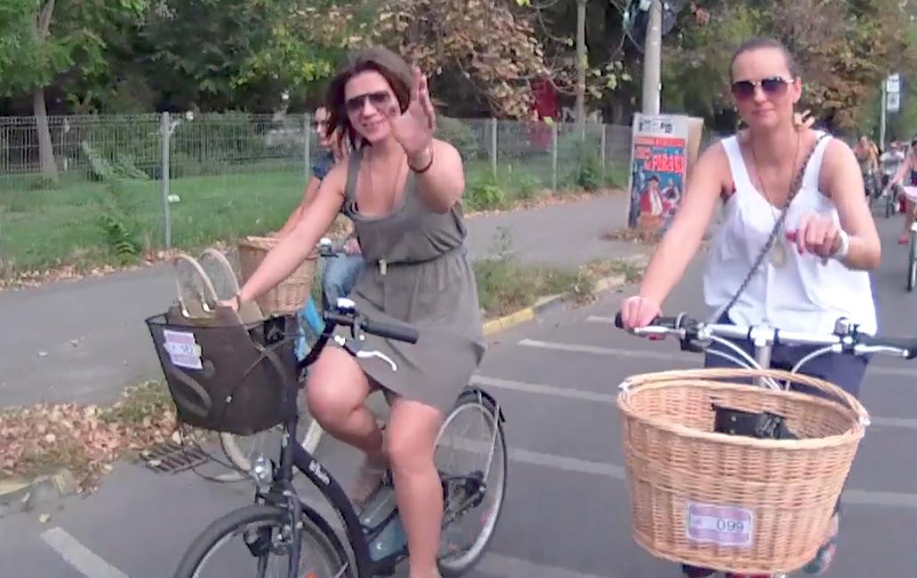 VIDEO Skirtbike-ul de toamnă pe 2012