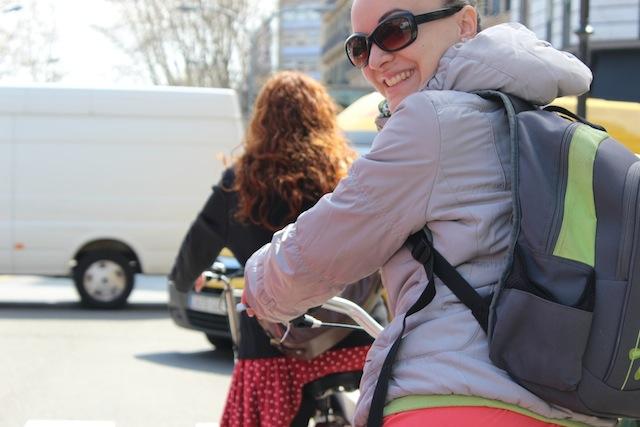 O zi pe bicicletă în Barcelona