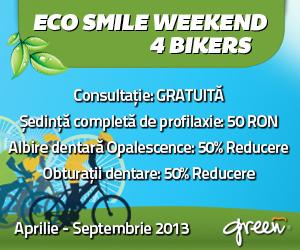 (P) Dinți mai sănătoși pentru bicicliști