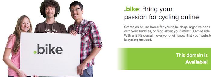 Domeniile .bike sunt disponibile pentru preînregistrare