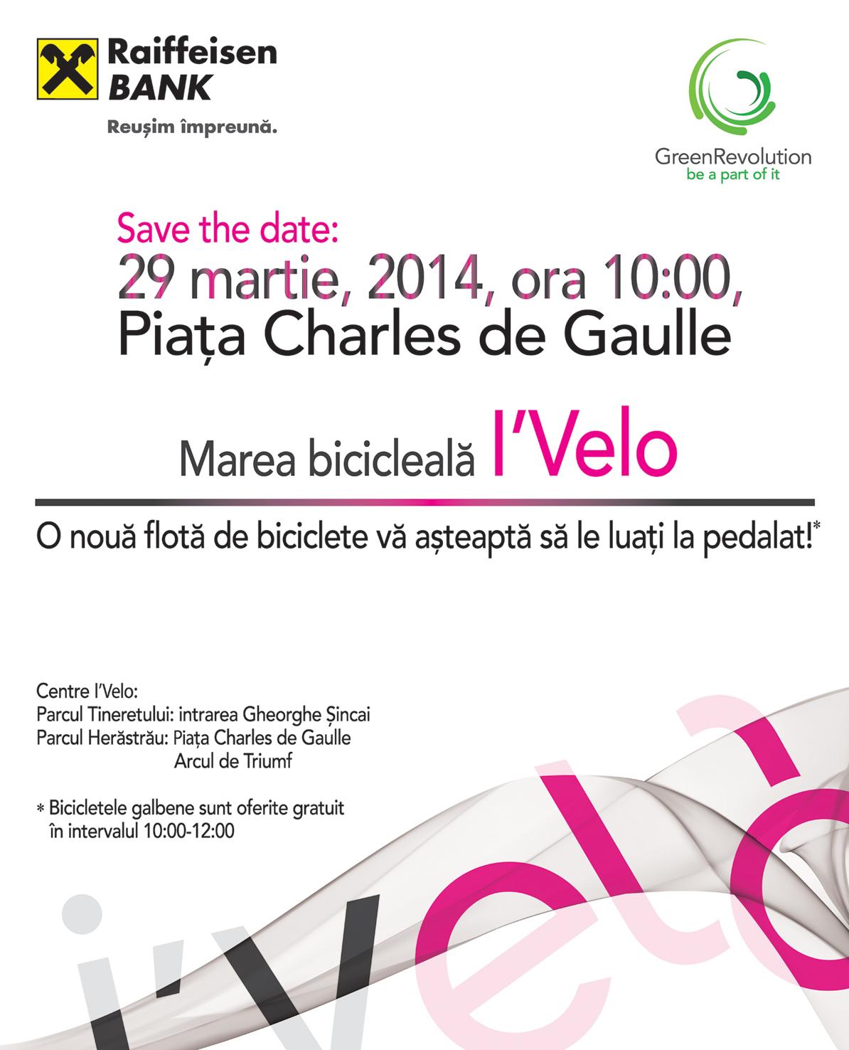 Bicicletele i'Velo se trezesc în noul sezon